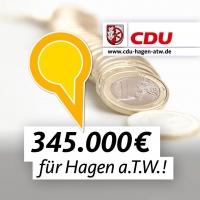 Guten Riecher bewiesen – Geldsegen für den Ortskern!