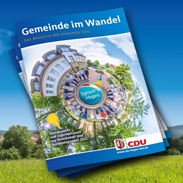 """Neu und multimedial: """"Gemeinde im Wandel"""" zur Kommunal- und Bundestagswahl 2021 ist erschienen!"""